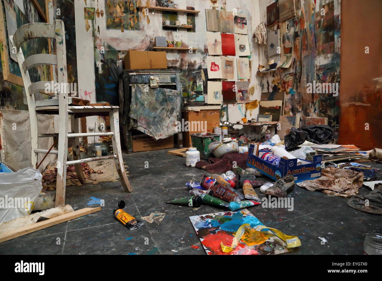 Art Night Venezia, Accademia di Belle Arti di Venezia - Stock Image