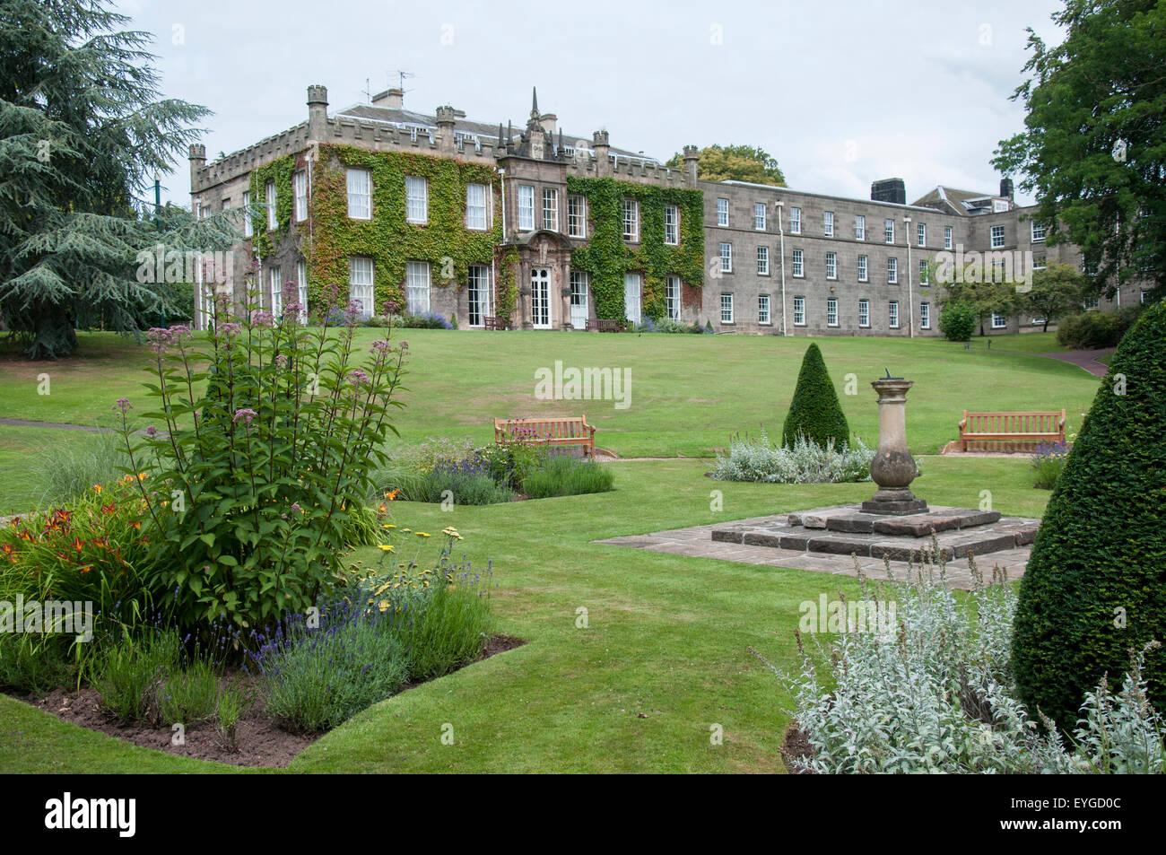 Hugh Stewart Hall And Gardens On The Nottingham University Campus,  Nottinghamshire England UK