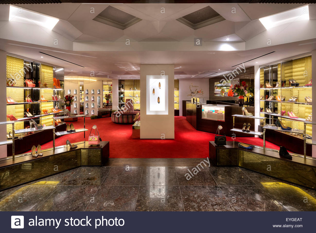 Awesome Shop Interior Wide Angle. Christian Louboutin   Harrods, London, United  Kingdom. Architect