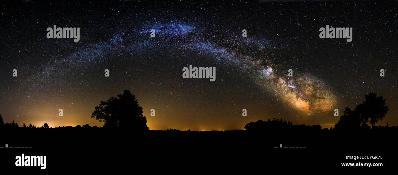 milkyway milky way - Stock Image