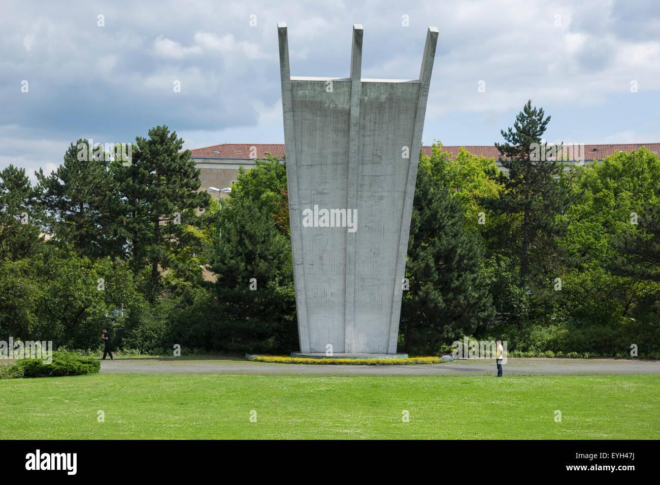 Luftbruecke monument, Berlin, Germany. - Stock Image