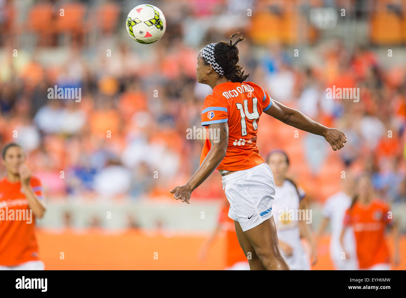 Houston, Texas, USA  29th July, 2015  Houston Dash forward