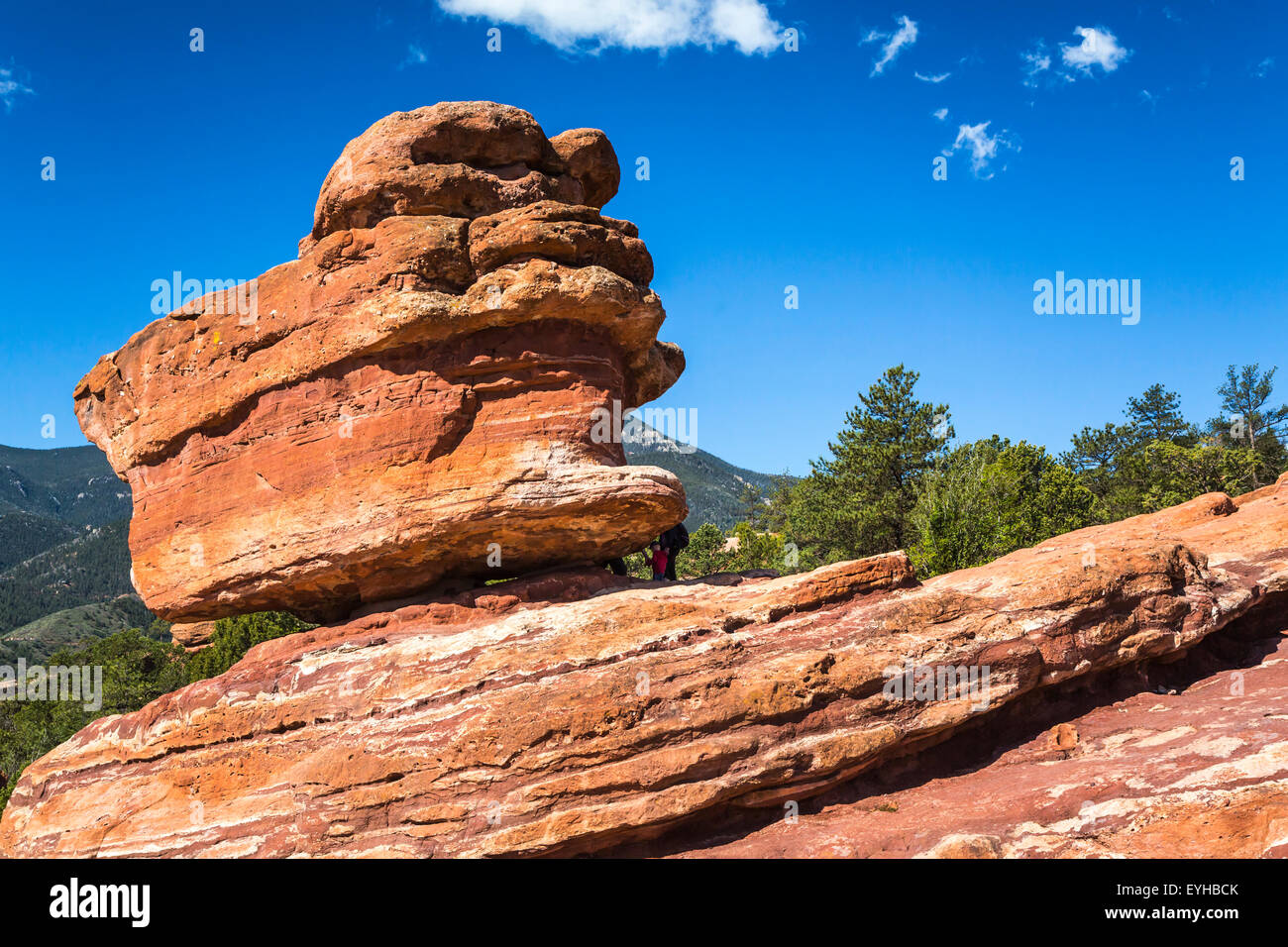 Balanced Rock In The Garden Of The Gods National Natural