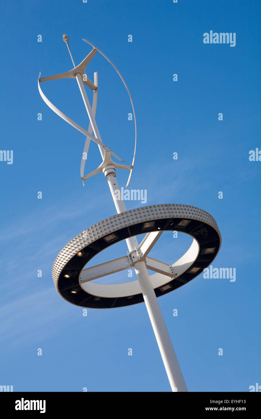 Vertical Axis Wind Turbine Stock Photos Amp Vertical Axis