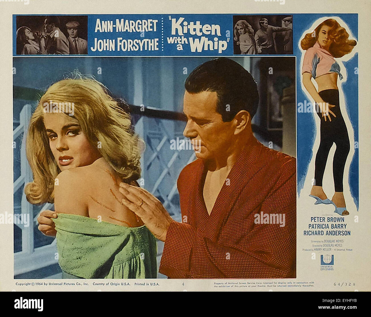 Kitten With a Whip - Ann-Margret - Movie Poster - Stock Image