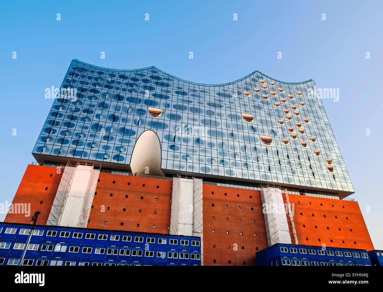 Elbe Philharmonic Hall in the HafenCity quarter, Hamburg, Germany Stock Photo