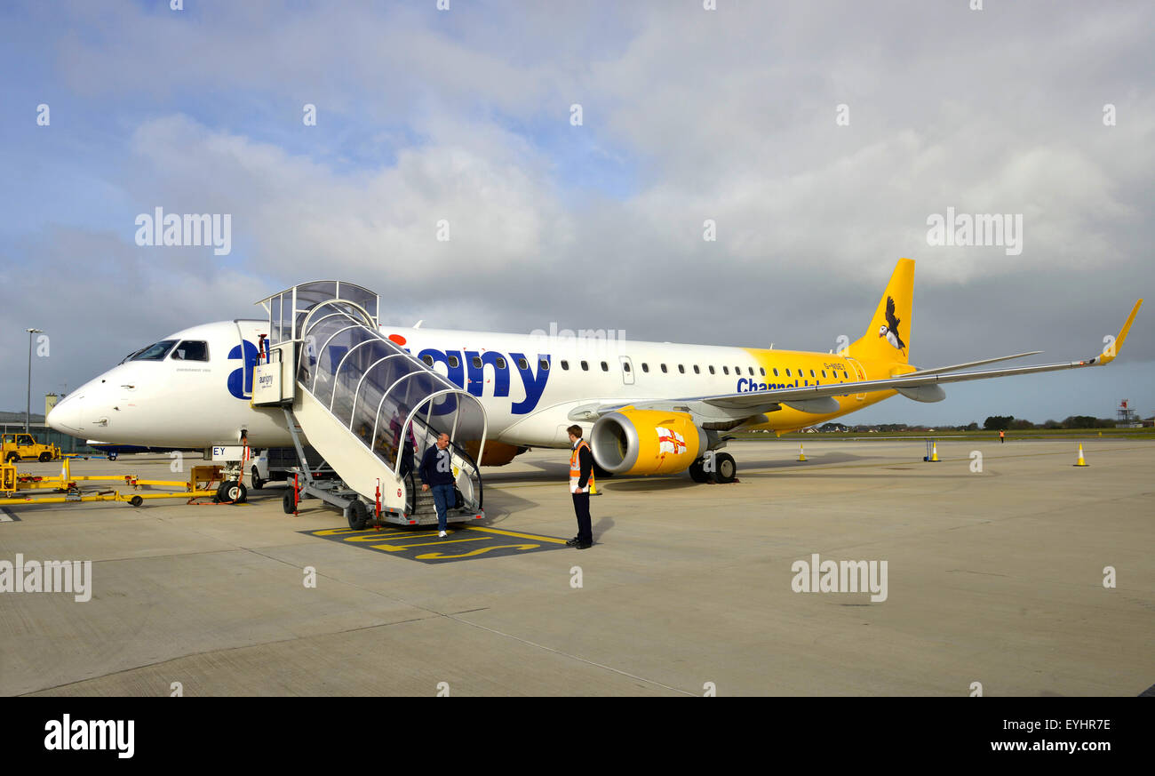 Auringy Airline, Guernsey, Channel Islands, Guernsey - Stock Image