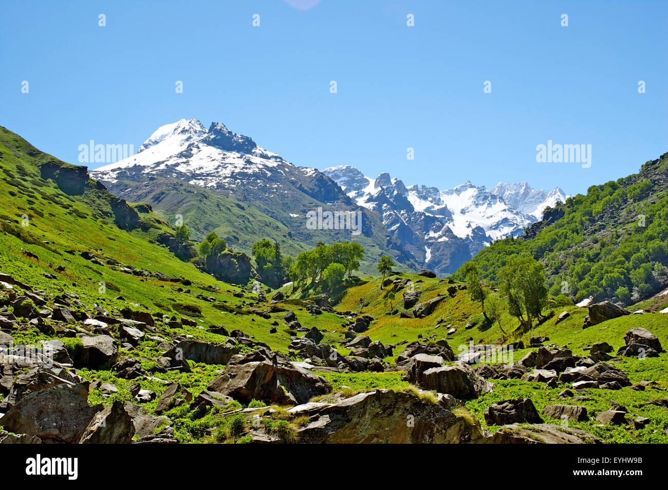 Landscape, Himachal Pradesh, India - Stock Image