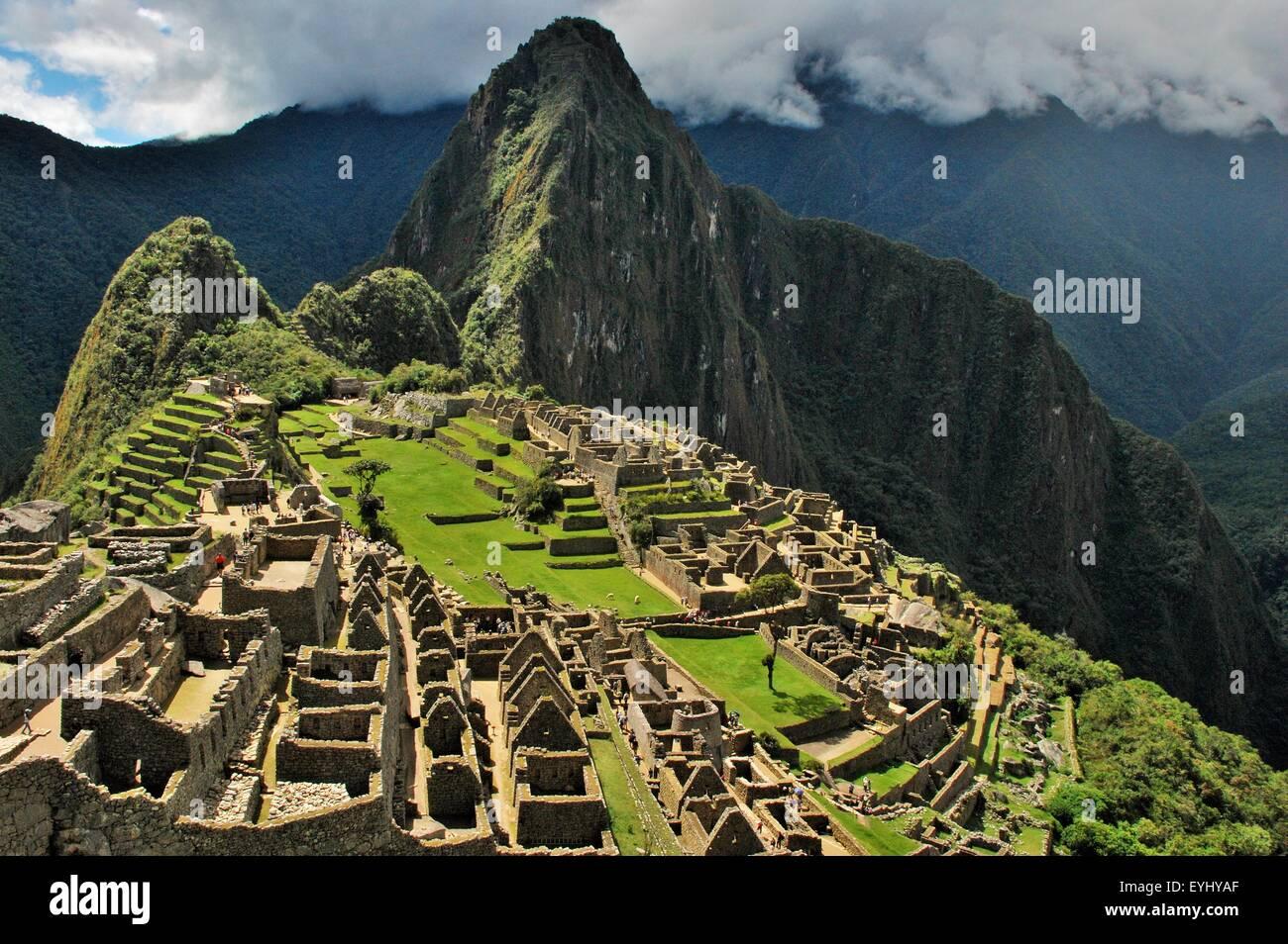 Machu Picchu, Cusco, Peru - Stock Image