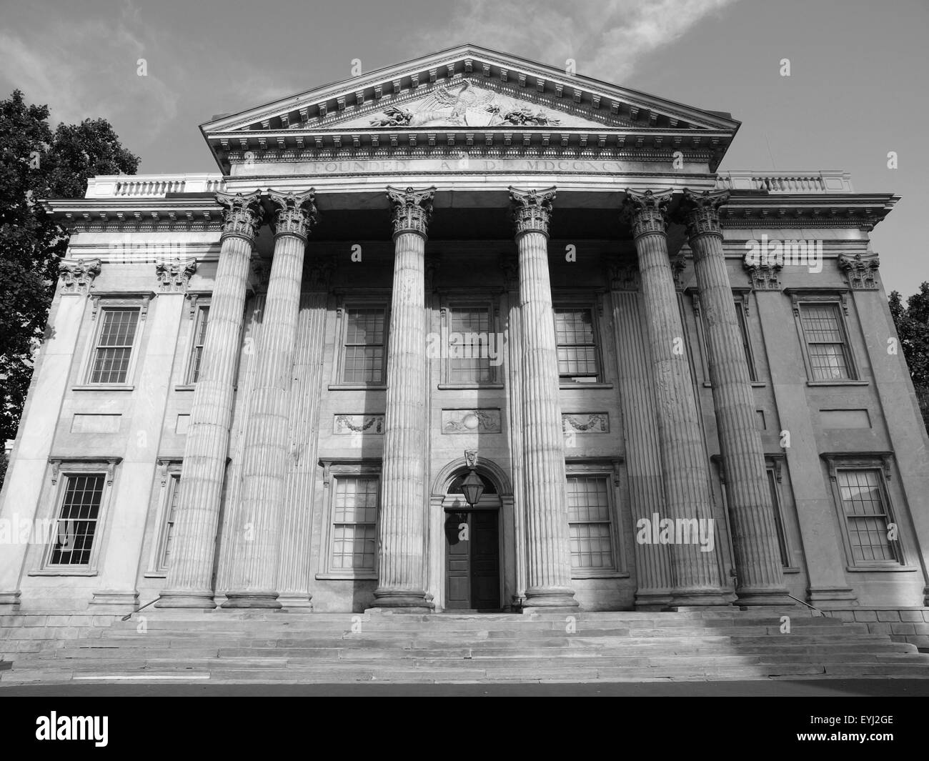 The historic First National Bank Building at Independence Hall National Historic Park in Philadelphia.  The building - Stock Image