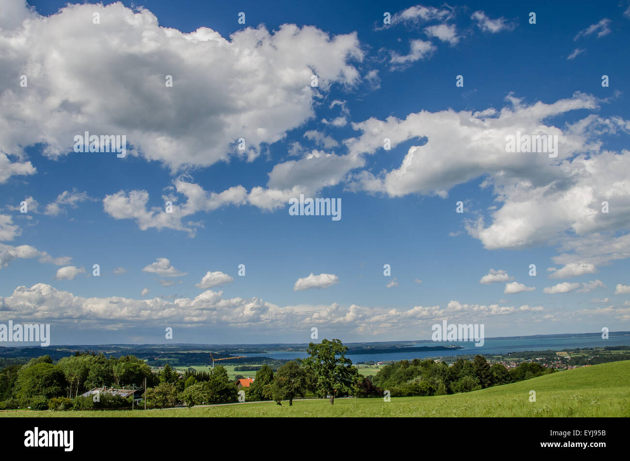 Visit Herrenchiemsee Palace, modeled after the Palace of Versailles by King Ludwig II, on this guided, full-day - Stock Image