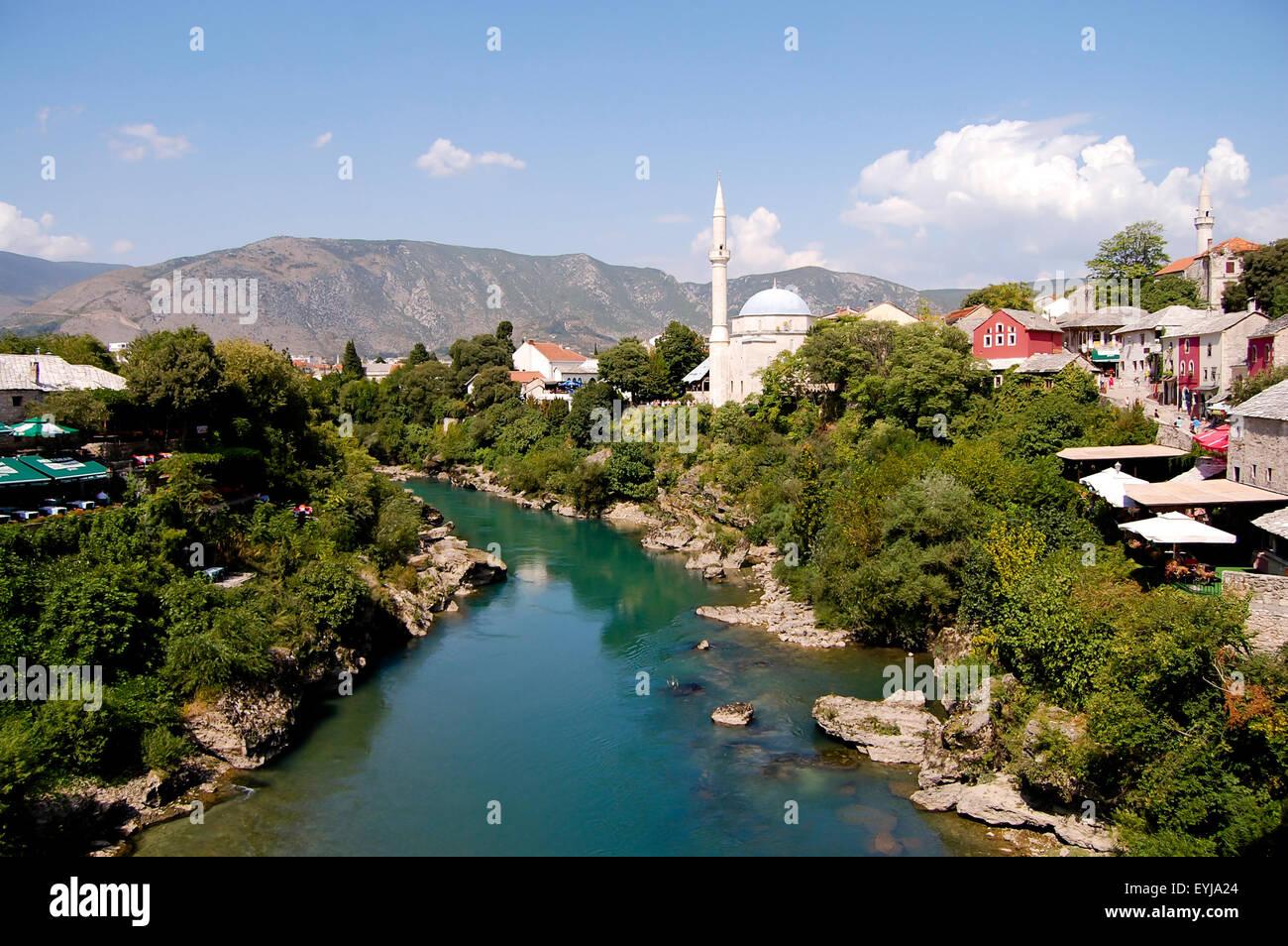 Mostar - Bosnia-Herzegovina - Stock Image