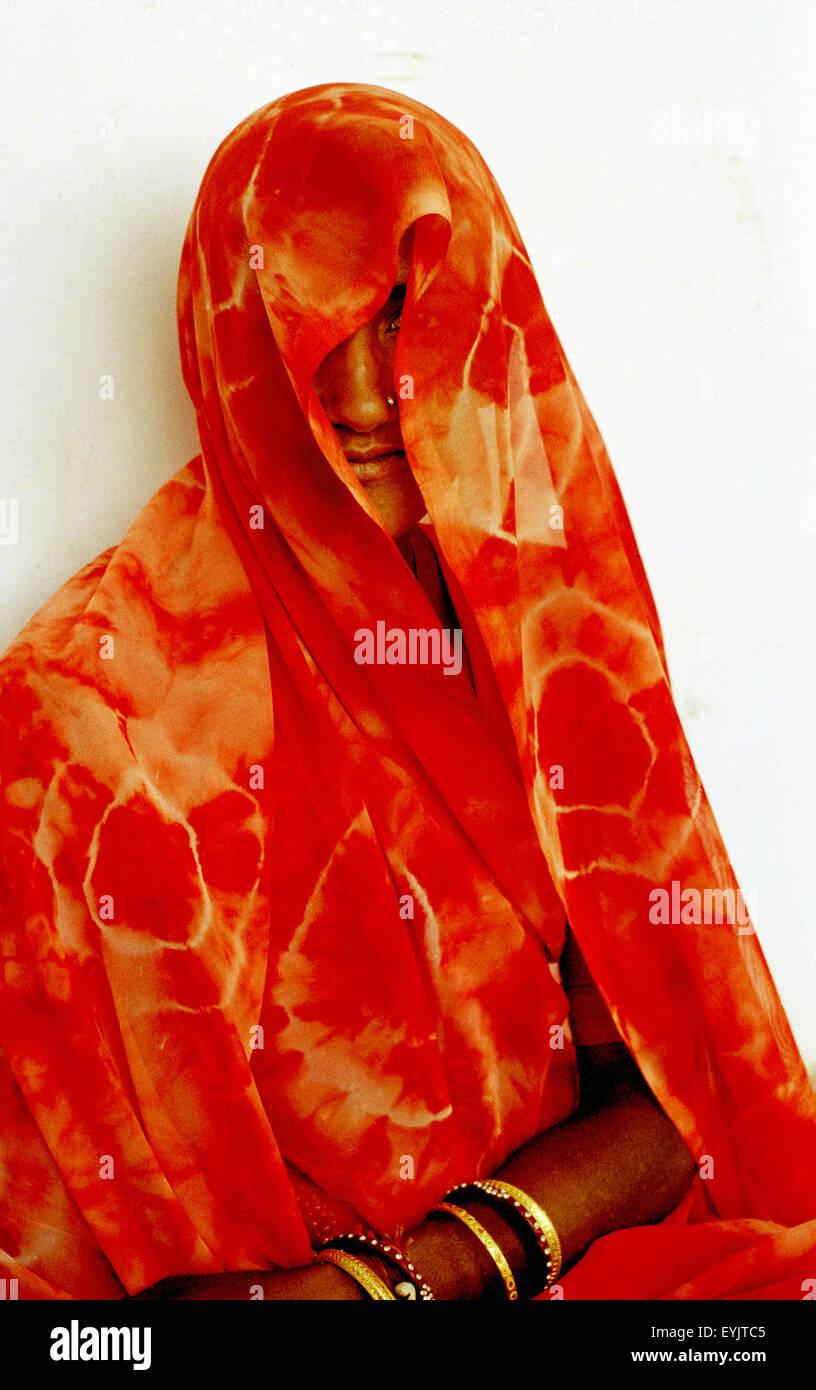 indian woman - Stock Image