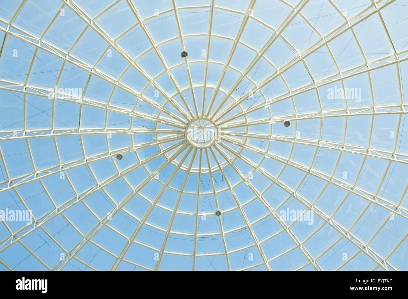 Spider Web Architecture - Stock Image