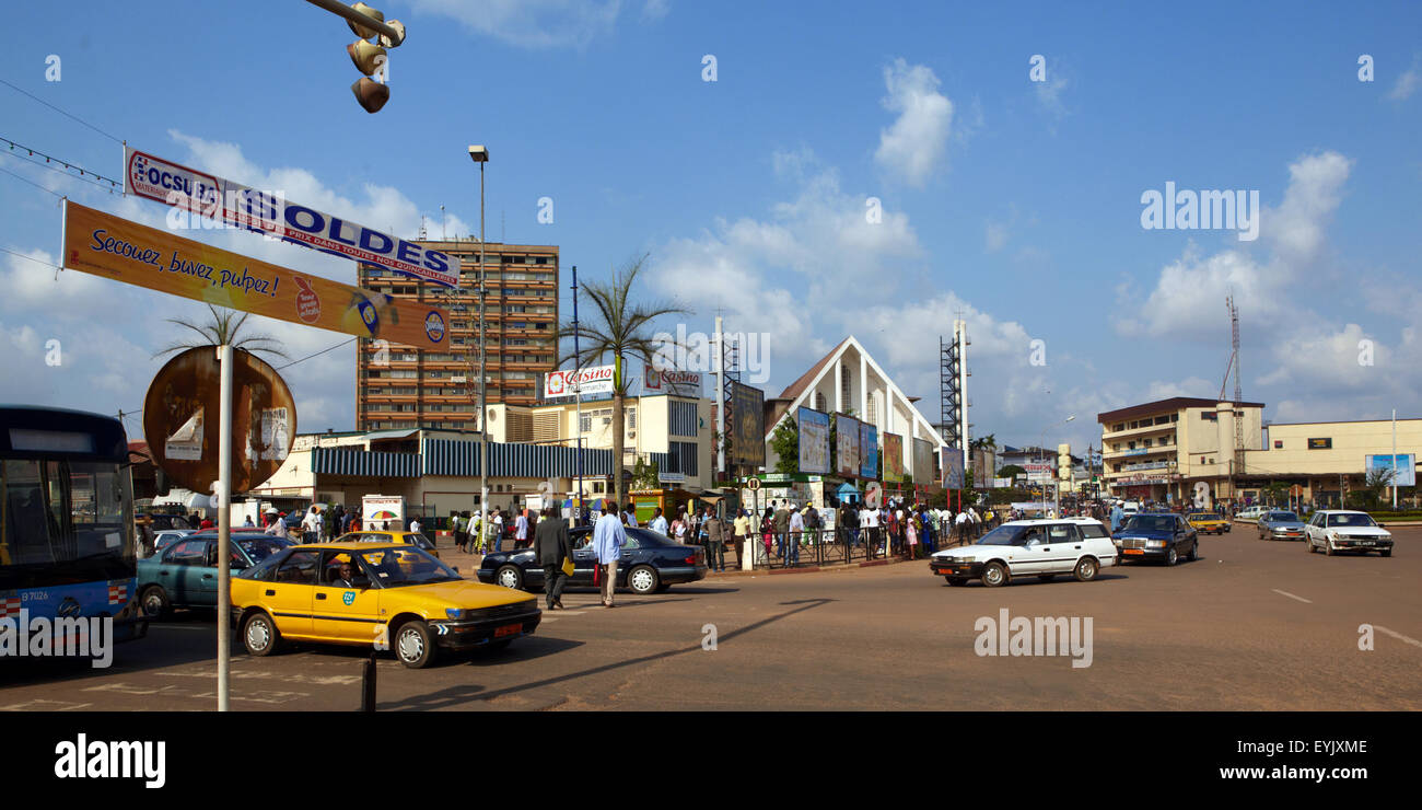 Africa, Cameroon, Center province, Yaounde city - Stock Image