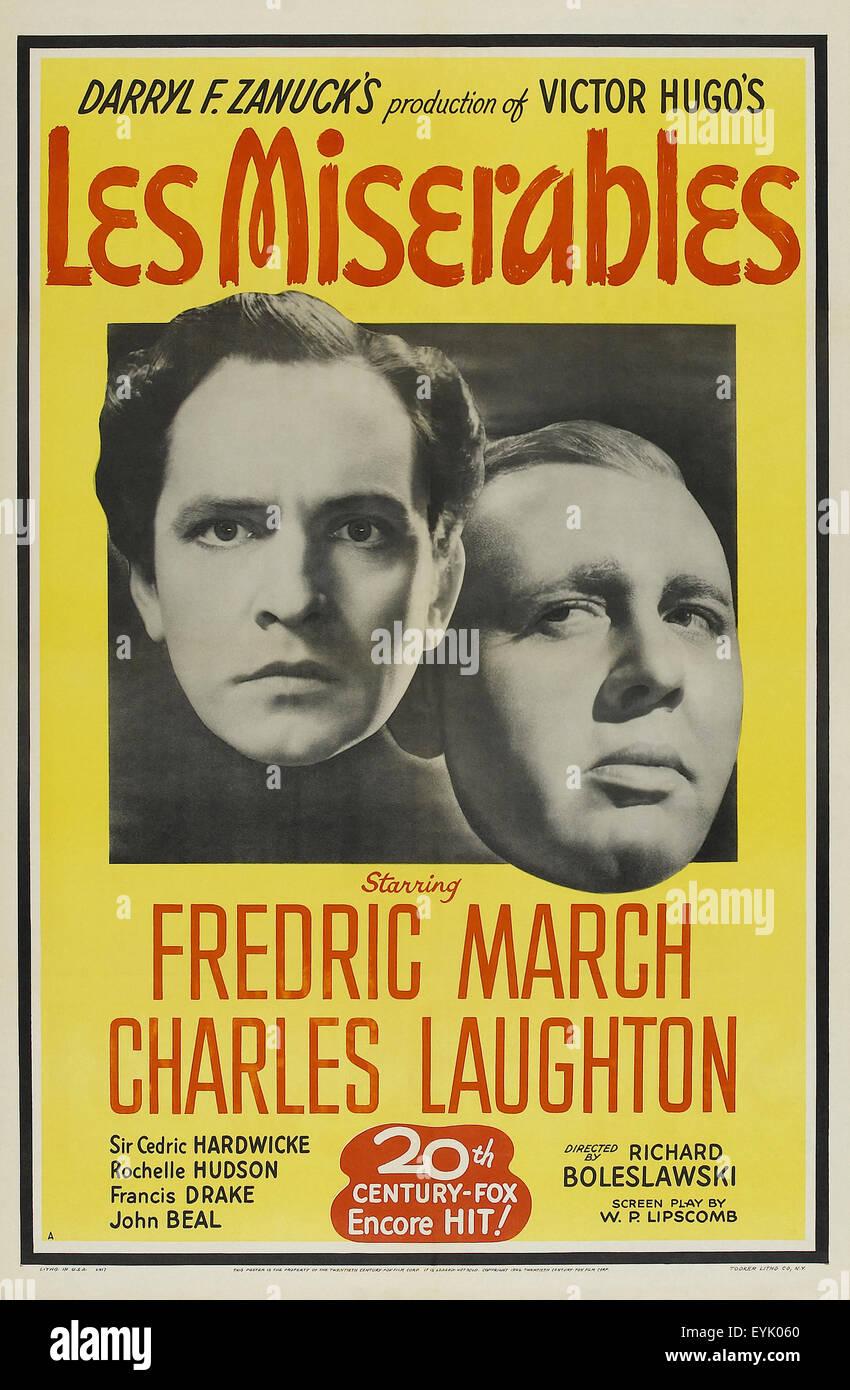 Les Miserables - 1935 - Movie Poster