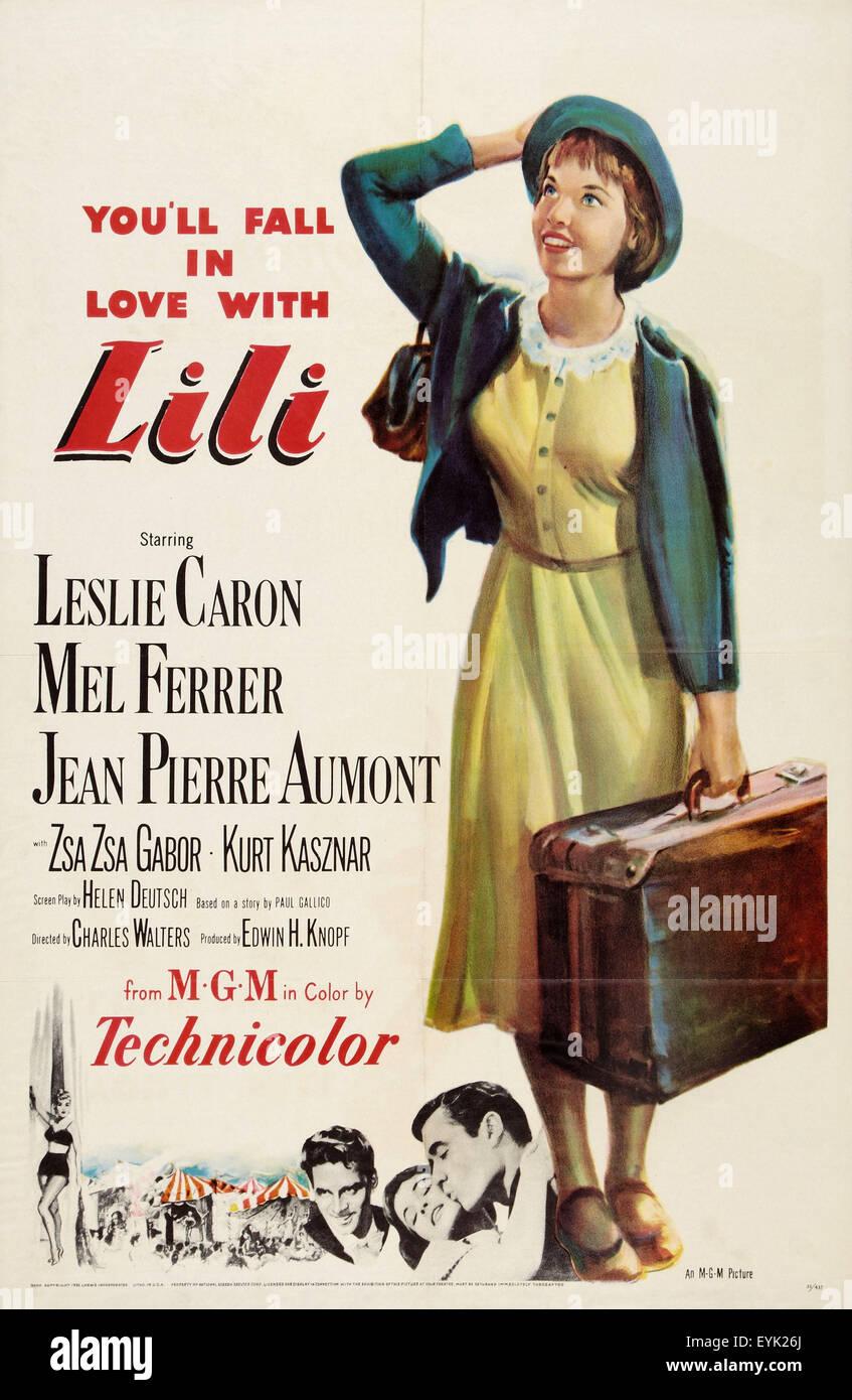 Lili - Movie Poster - Stock Image