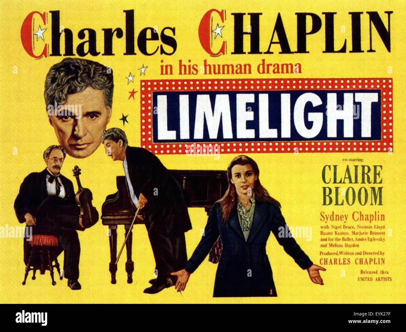 Limelight - Movie Poster Stock Photo: 85856051 - Alamy