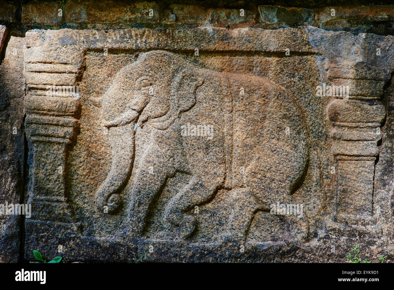 Sri Lanka, Ceylon, North Central Province, ancient city of Polonnaruwa, UNESCO World Heritage Site, Parakrama Bahu's - Stock Image