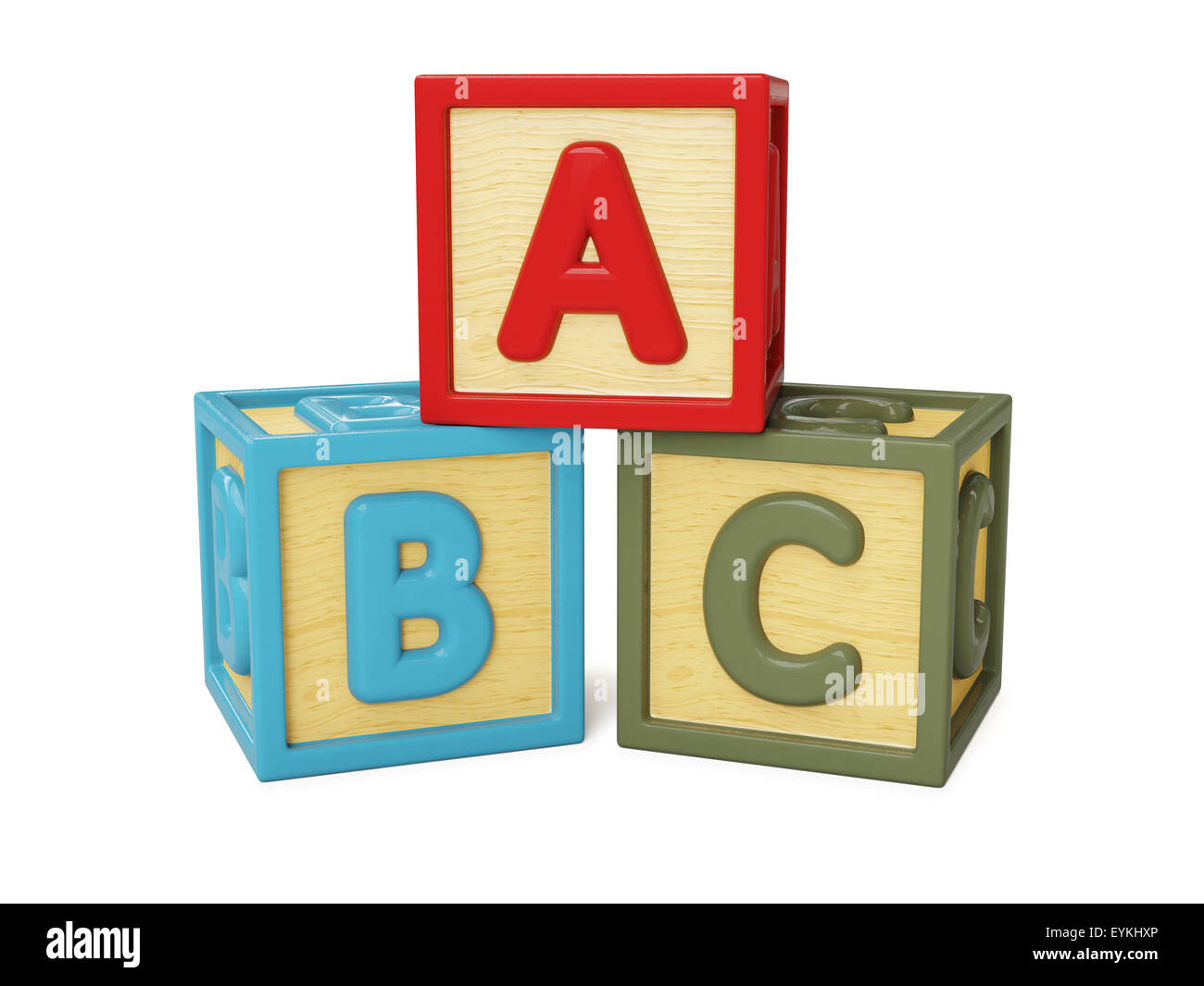 wood block letters abc alphabet wooden building blocks with letters isolated 25665 | abc alphabet wooden building blocks with letters isolated on white EYKHXP