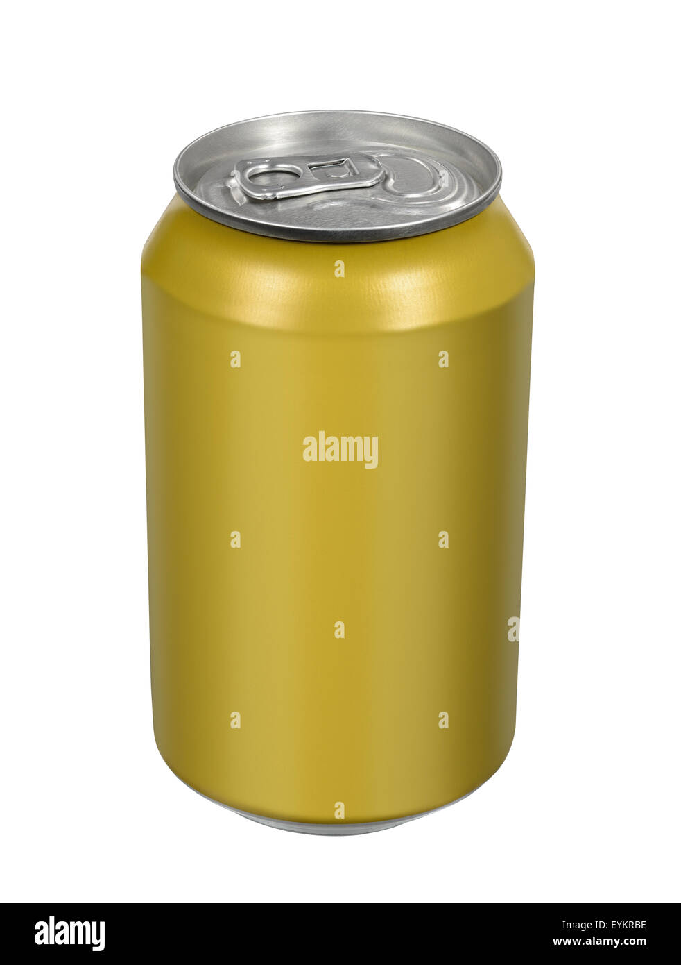 33cl beverage drink tin can - Stock Image