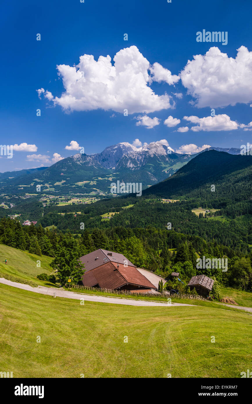 Germany, Bavaria, Upper Bavaria, 'Berchtesgadener Land' (district), Ramsau (municipality) near by Berchtesgaden, Stock Photo