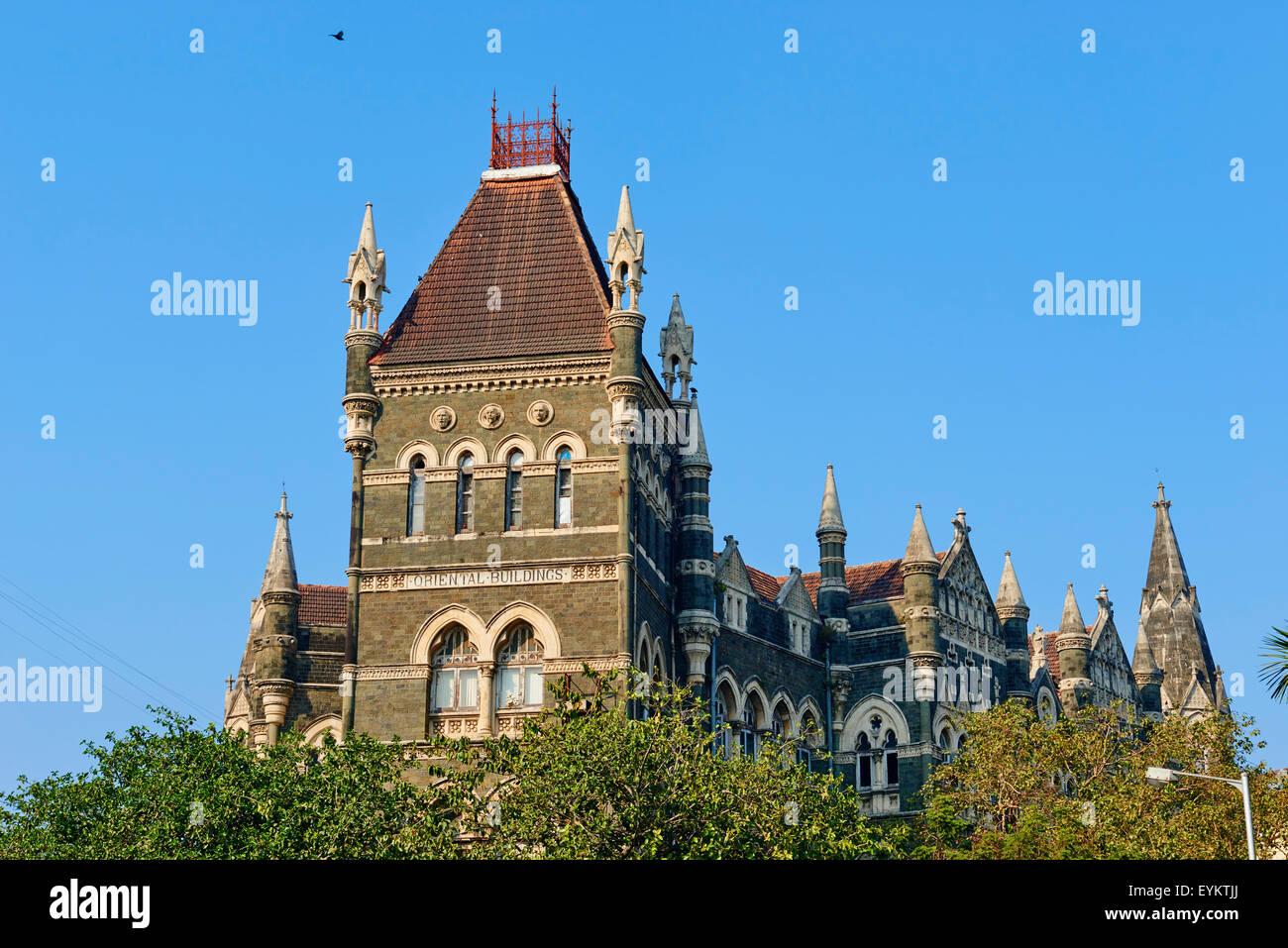 India, Maharashtra, Mumbai (Bombay), Hutatma chowk square - Stock Image