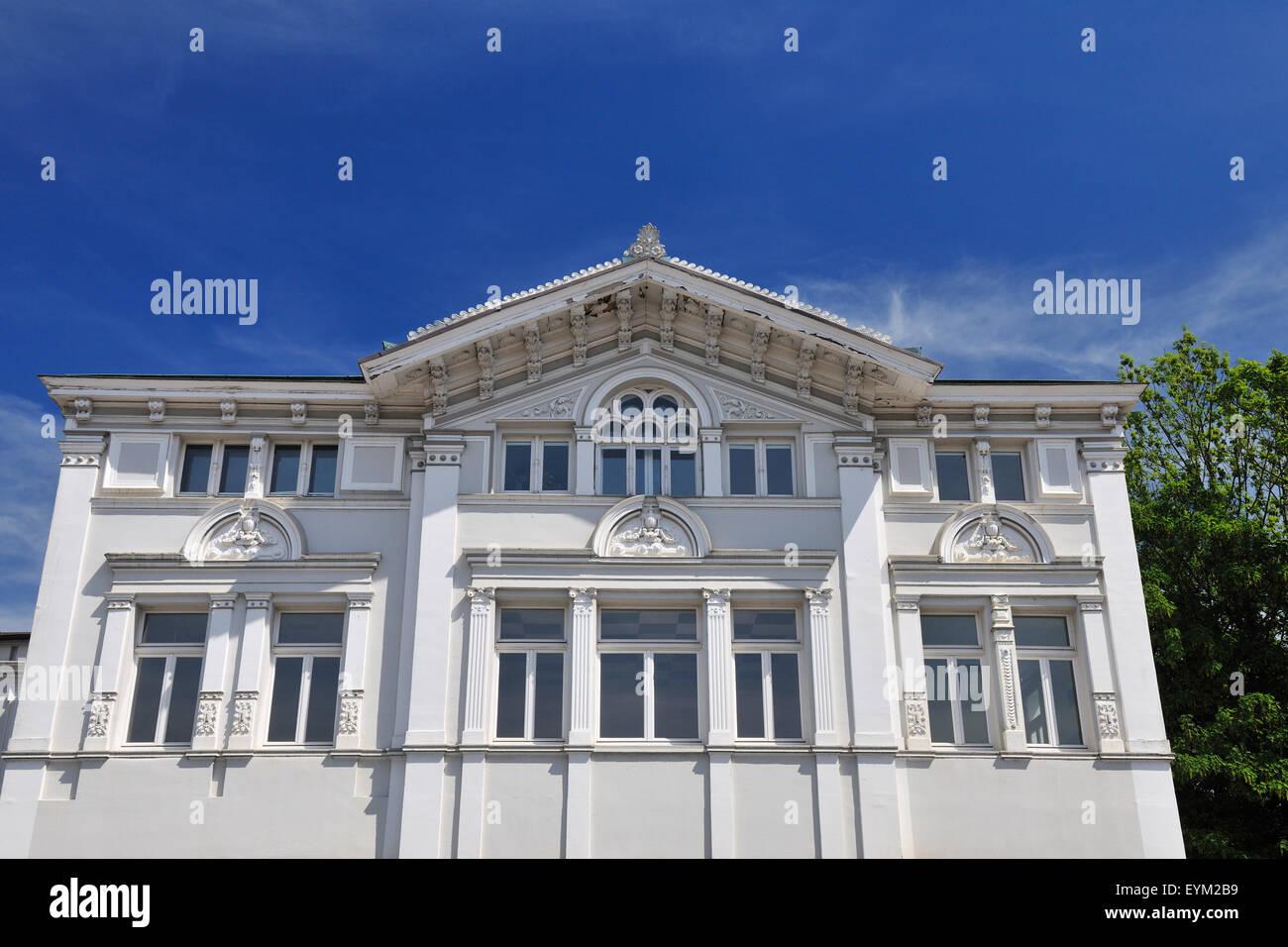 House, classicism, Arnsberg, Sauerland, North Rhine-Westphalia, Germany, - Stock Image