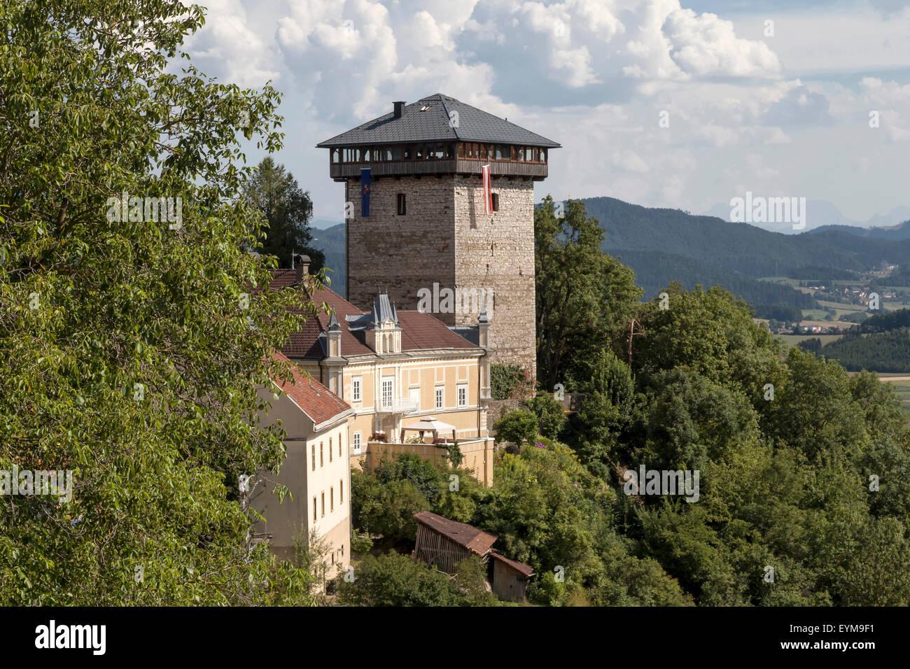 Stadtzentrum von Althofen-Treibach, Kärnten, Österreich - Stock Image