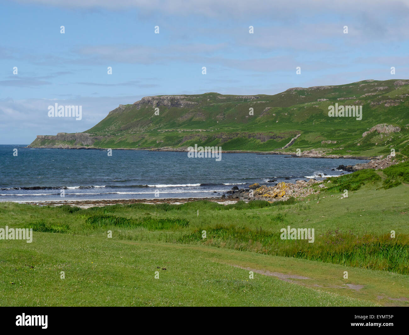Calgary Bay, Isle of Mull, Scotland, July 2015 - Stock Image