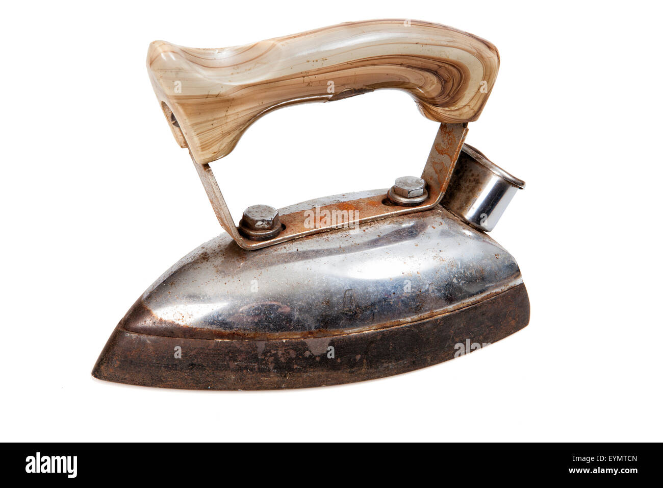 Antique iron - Stock Image