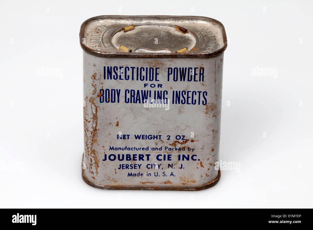 American insecticide for Prisoner of war, 2nd world war, - Stock Image