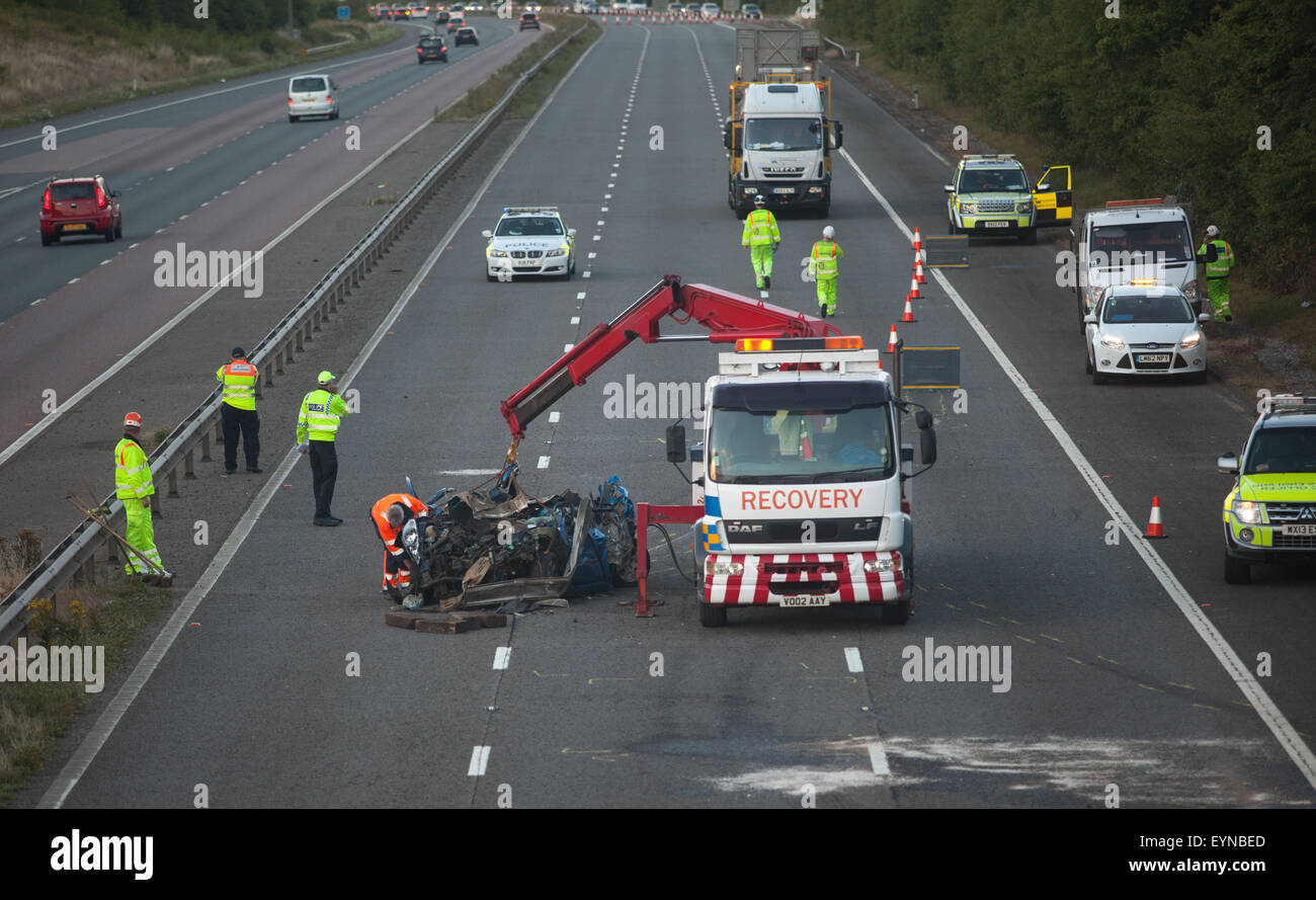 Ambulance And Police Car Crash Stock Photos & Ambulance And Police