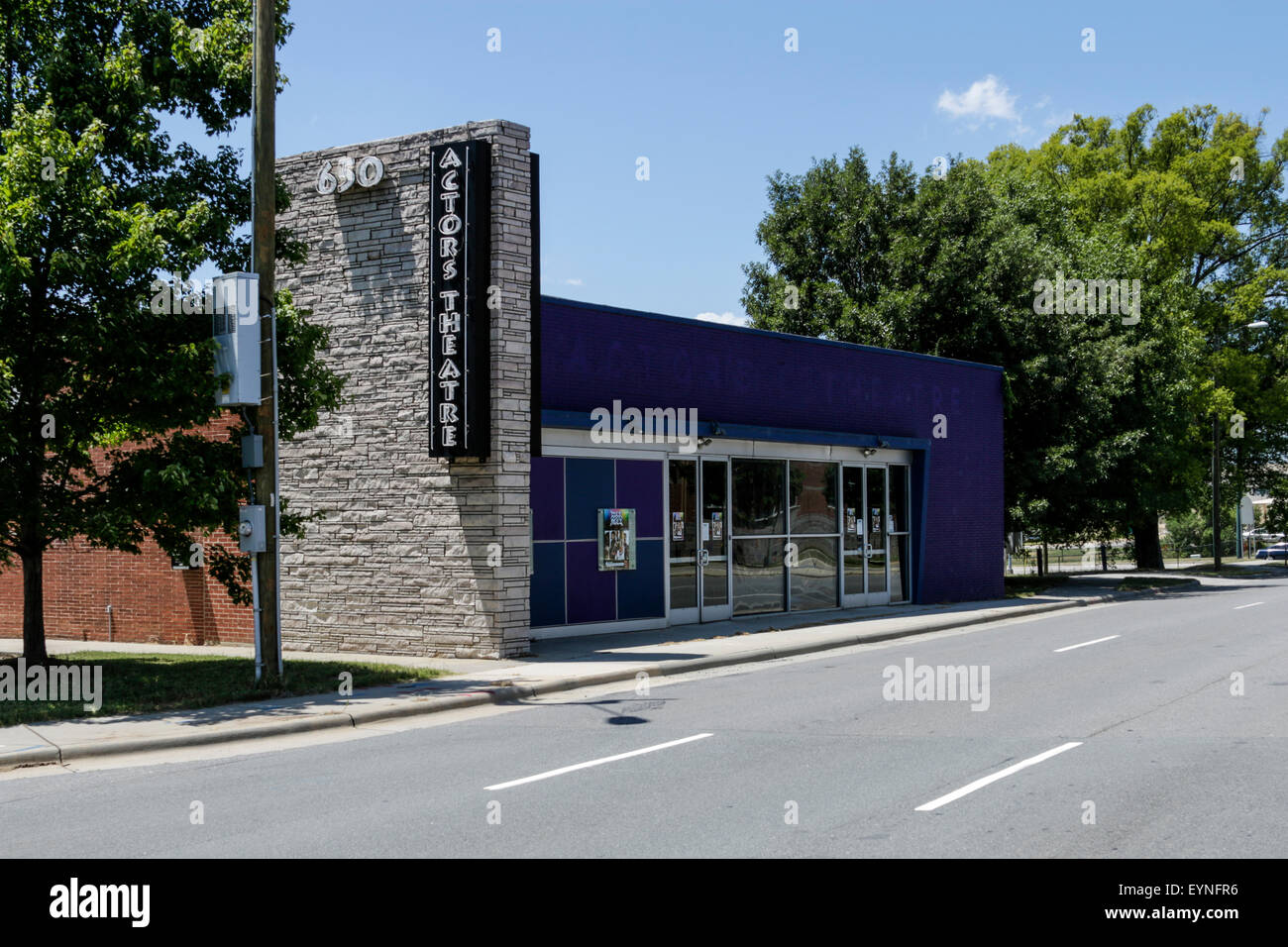 Actor's Theatre of Charlotte - Stock Image