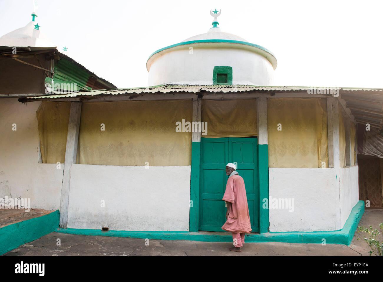 Yamasera Mosque, Ethiopia - Stock Image