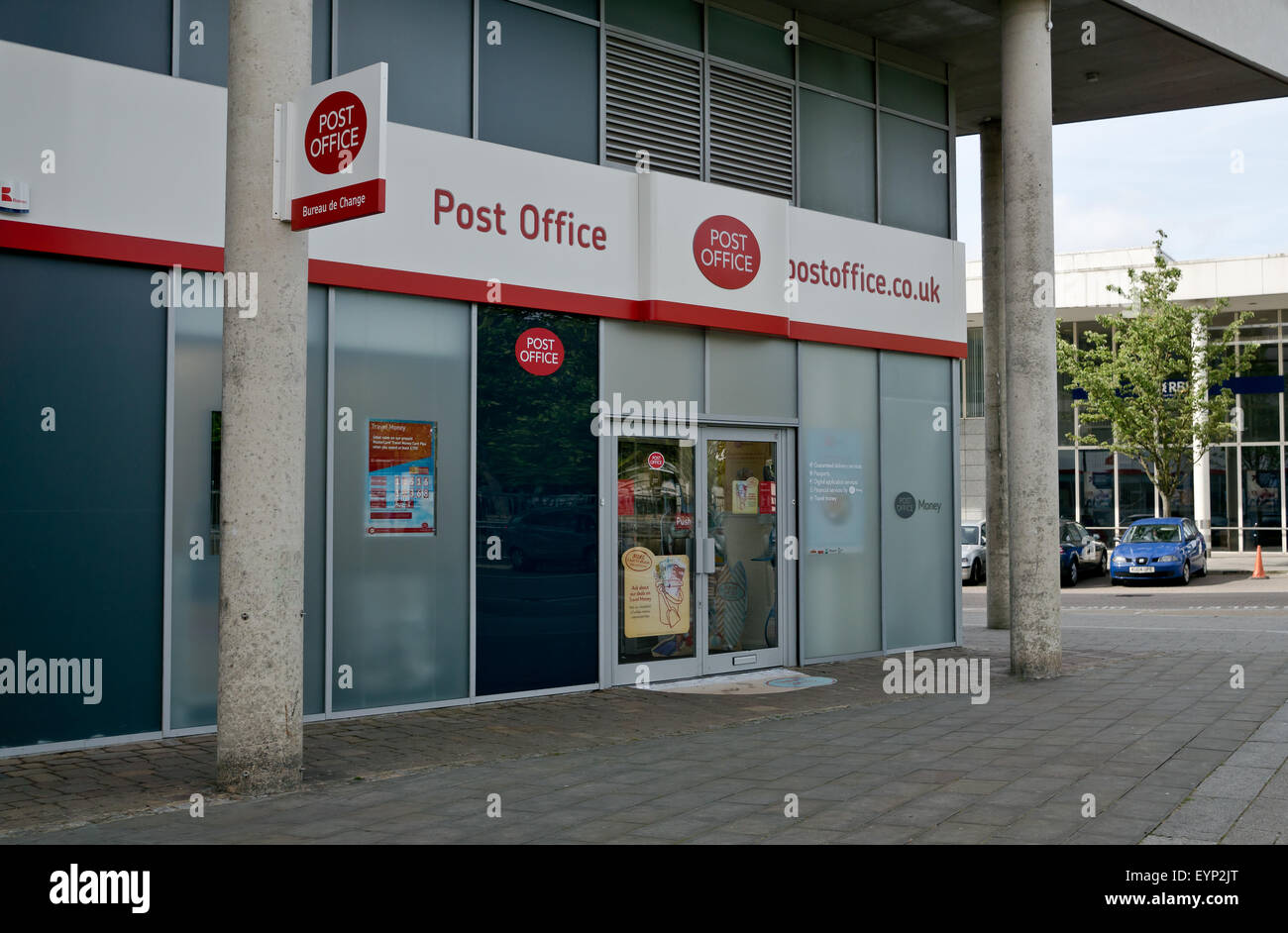 post office shop front