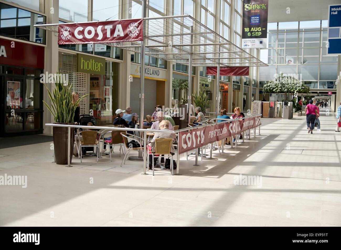 Costa Coffee Café In The Centre Mk Stock Photo 85922532 Alamy