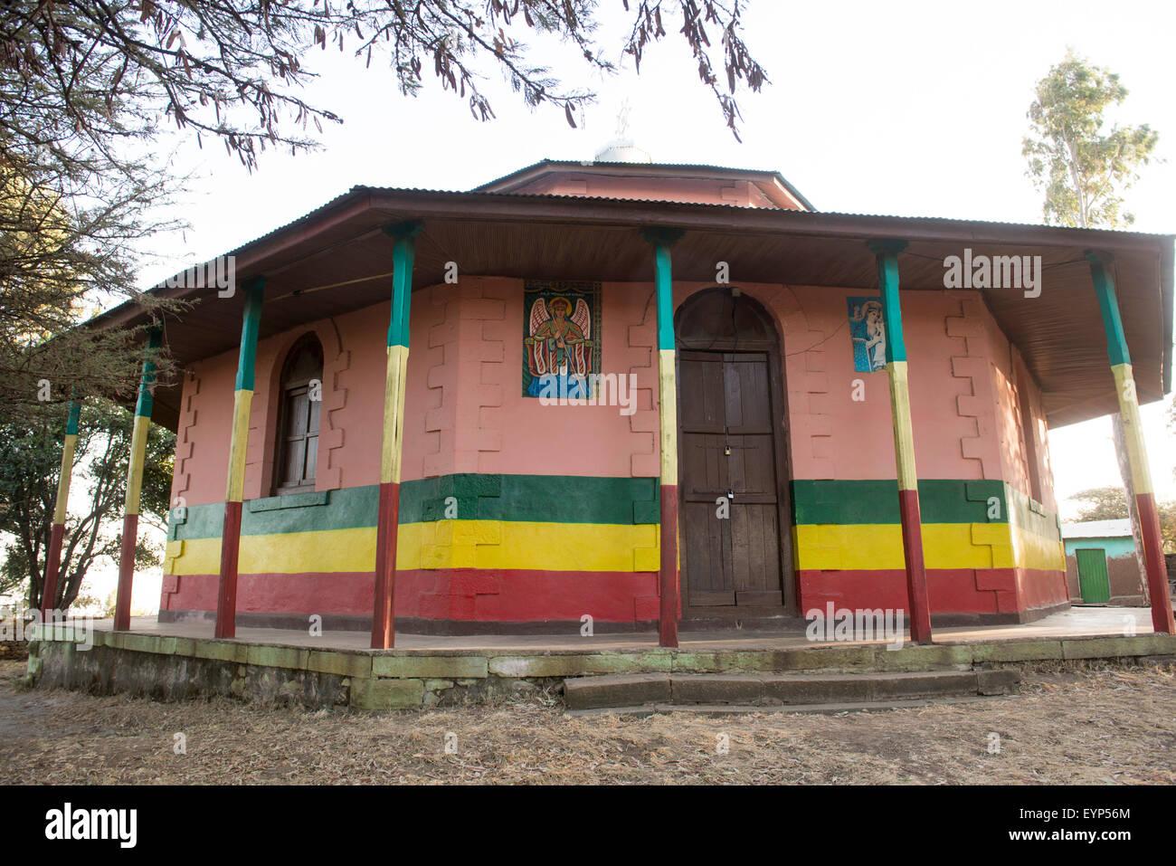 Kachema Mikael Church, Adama, Ethiopia - Stock Image