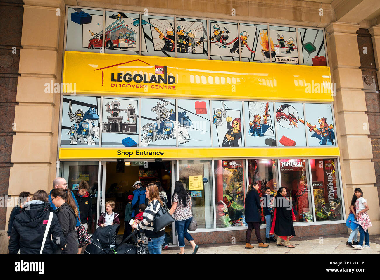 Legoland store in Barton Square, Trafford centre, Manchester, UK Stock Photo