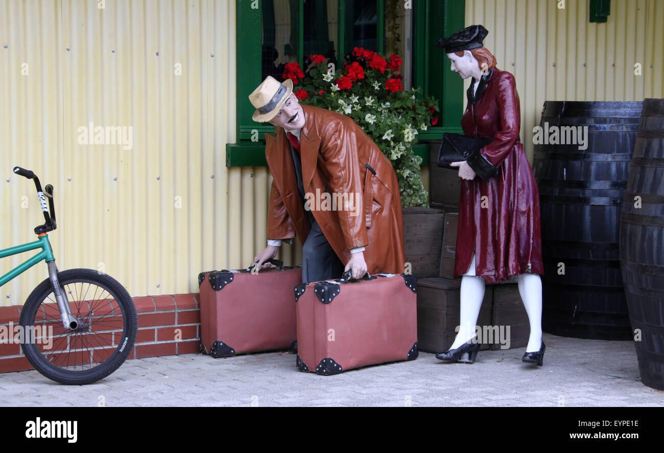 West Cork Model Railway Village in Ireland - Stock Image
