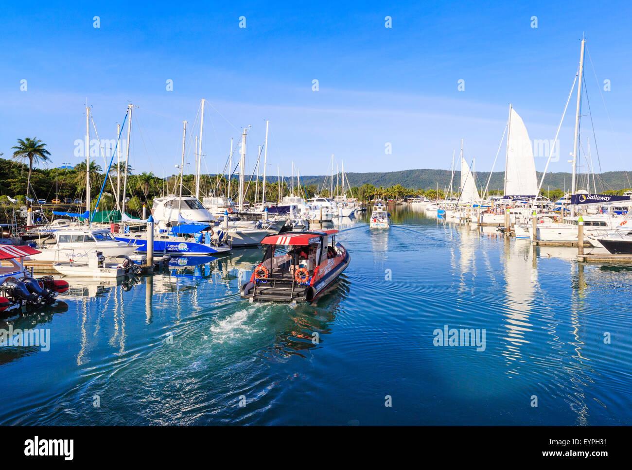 Port Douglas Marina. Queensland, Australia - Stock Image