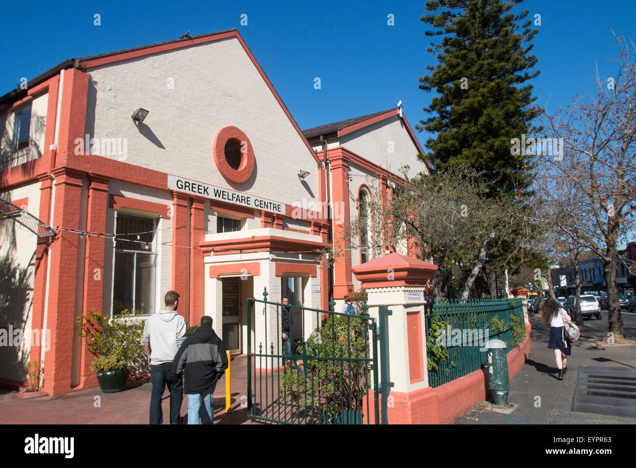 Greek welfare assistance centre in Newtown, inner suburb of Sydney,new south wales,australia - Stock Image