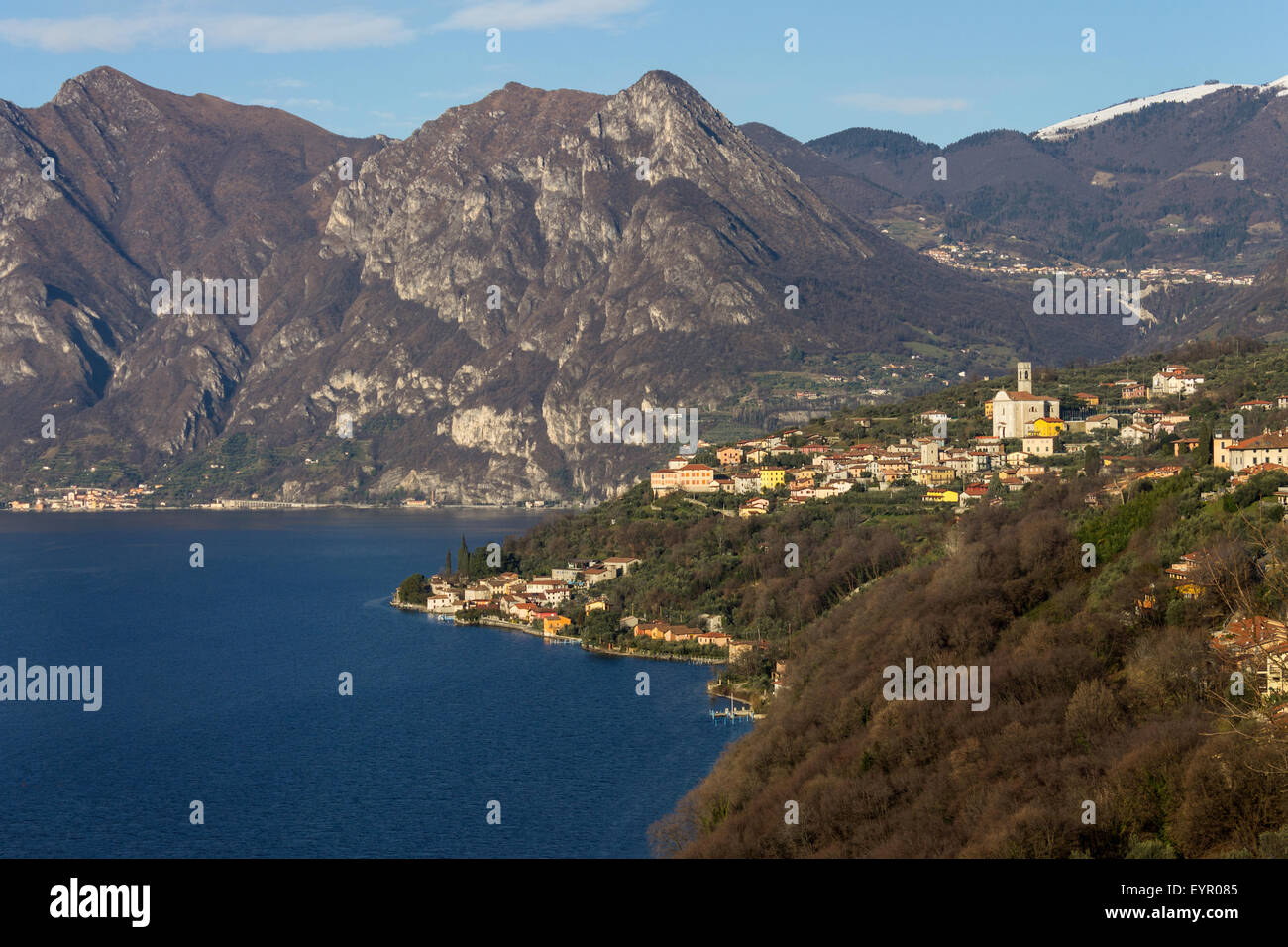 Italy, Lombardy, Iseo lake, Monte Isola - Stock Image