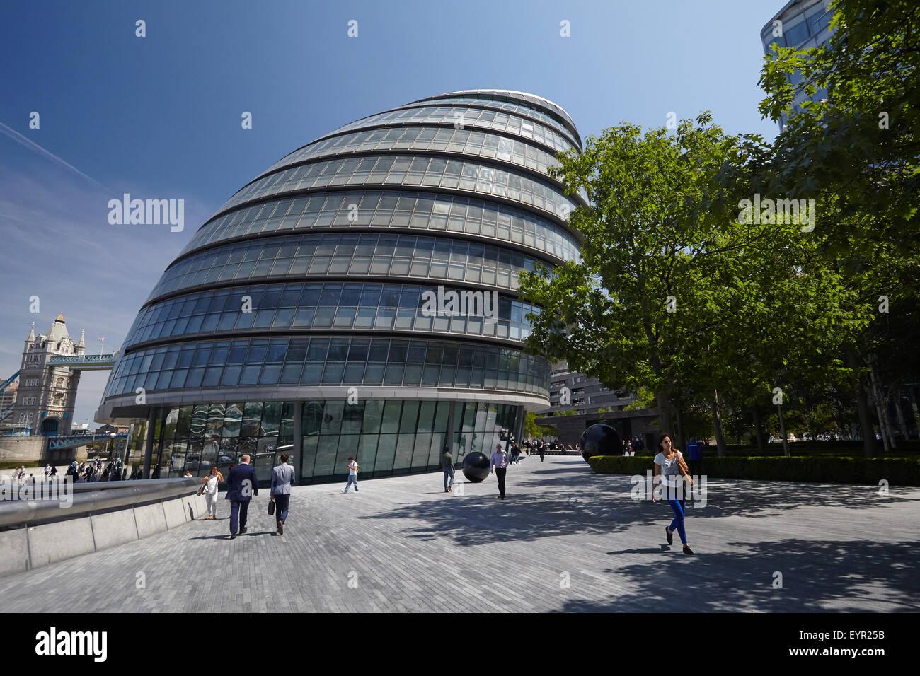 London City Hall - Stock Image