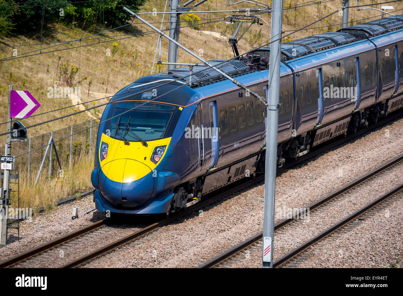 Southeastern high speed javelin train. - Stock Image