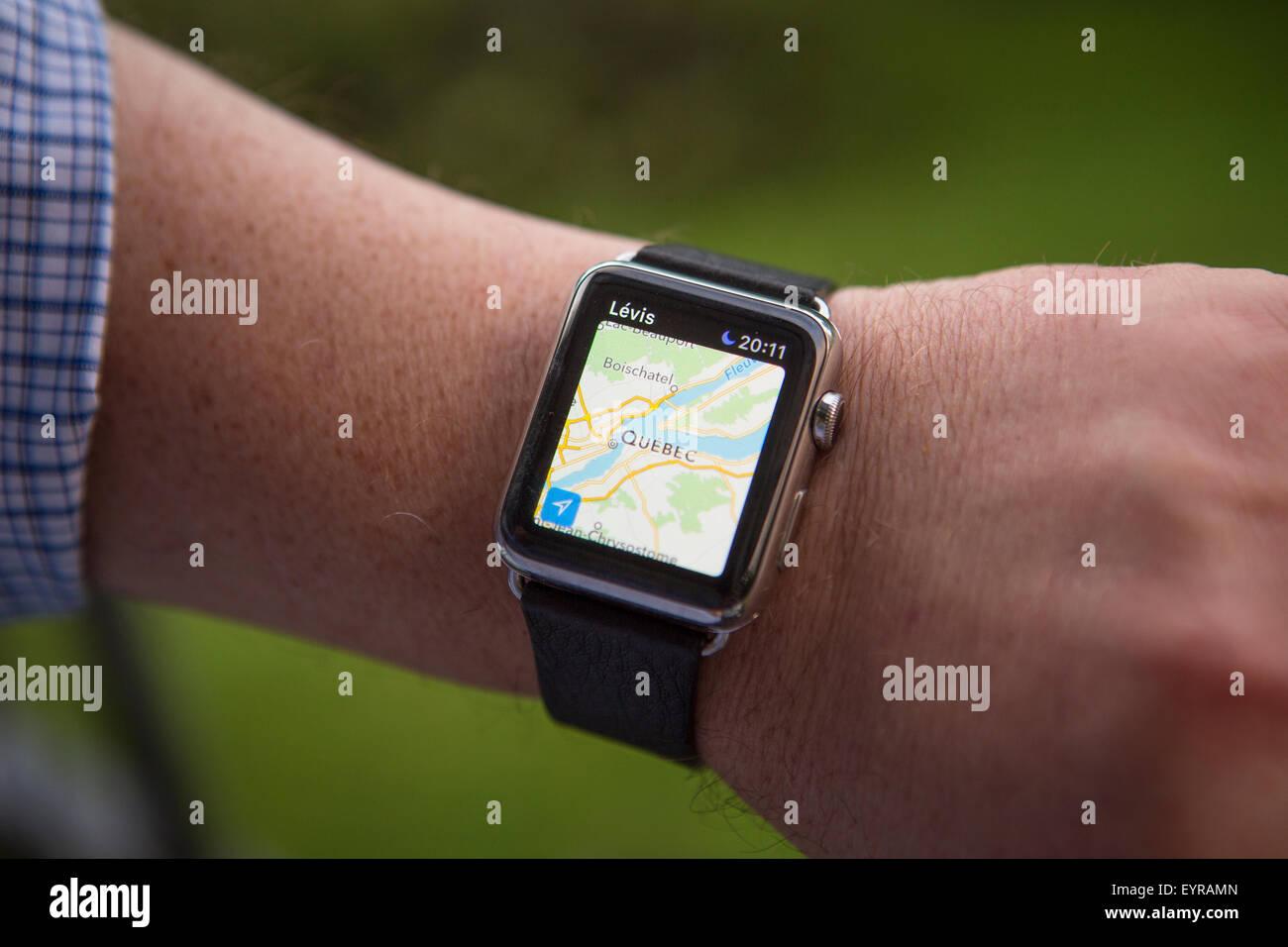 6acfc0ed6b063b A man uses an Apple Watch Saturday August 1