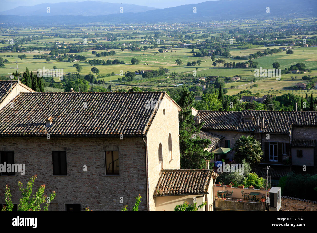 Assisi, Umbria, Italy - Stock Image