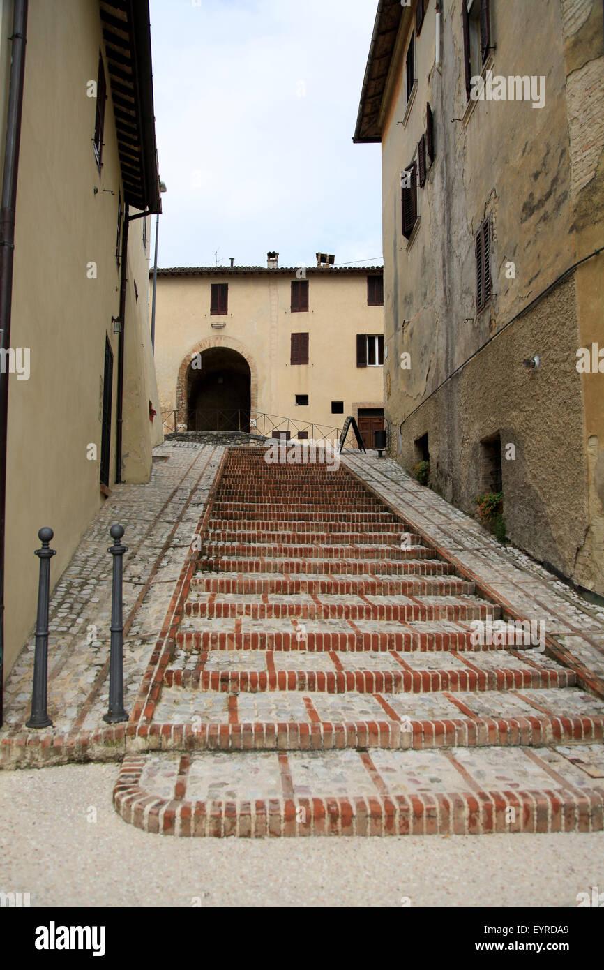 Spello, Umbria, Italy - Stock Image