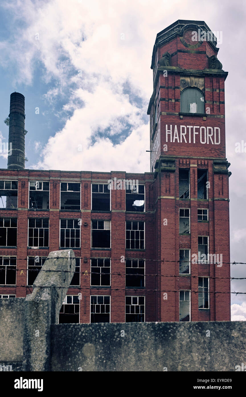 Hartford Mill, Freehold, Greater Manchester - Stock Image