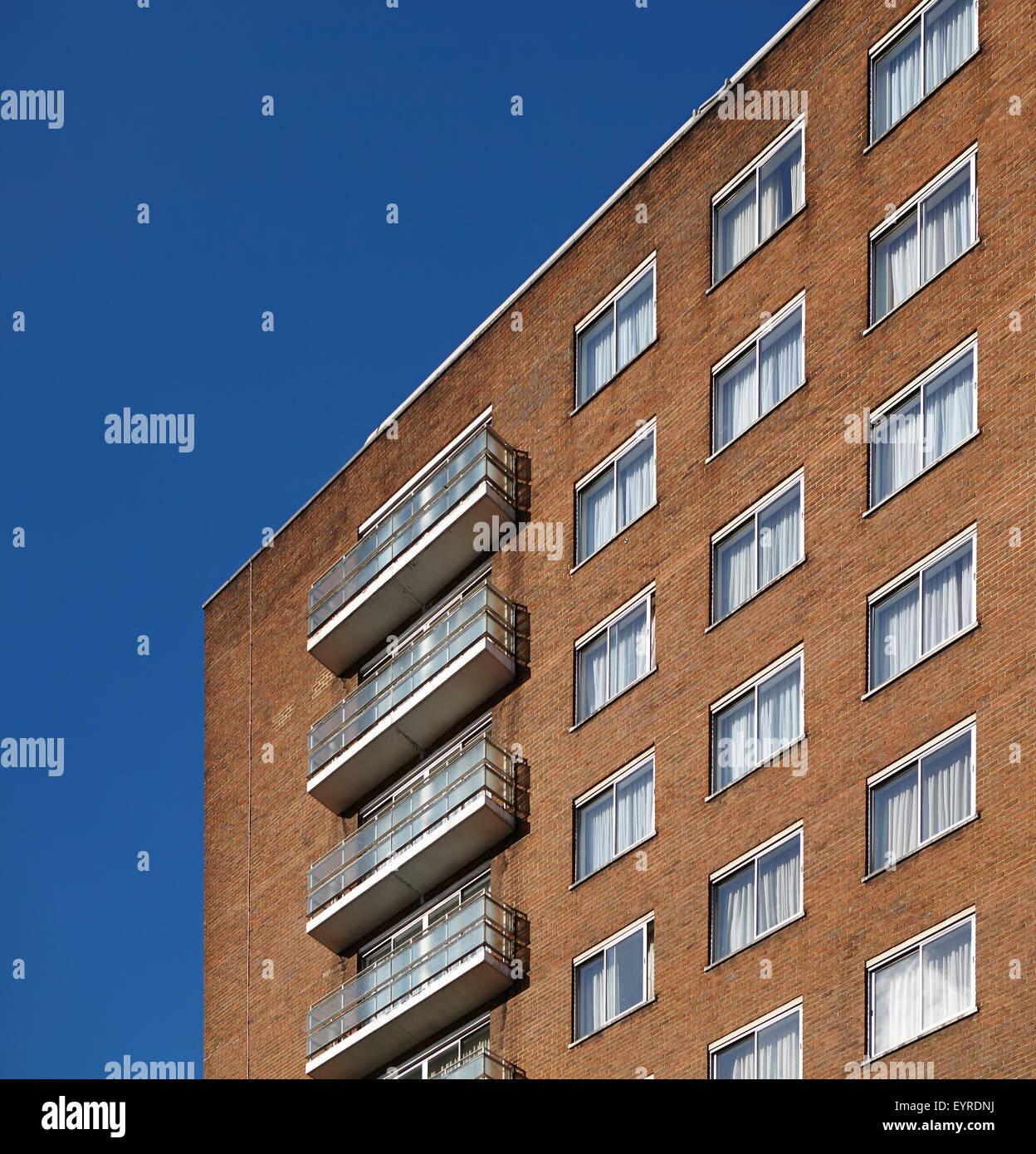London Council housing - Stock Image